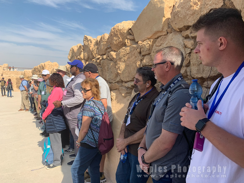 Tour of Masada