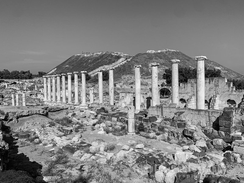 Ancient ruins of Beit She'an