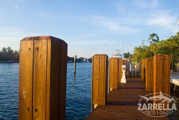 """Dock at Sunset"" (Hillsboro, Florida)"