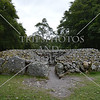 The Balnuaran of Clava monument and prehistoric cemetery in Inverness, Scotland.