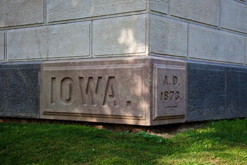 Iowa Capitol Building Cornerstone