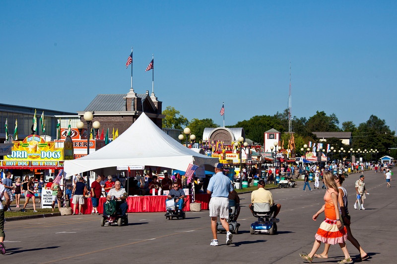 Main Street before the crowds