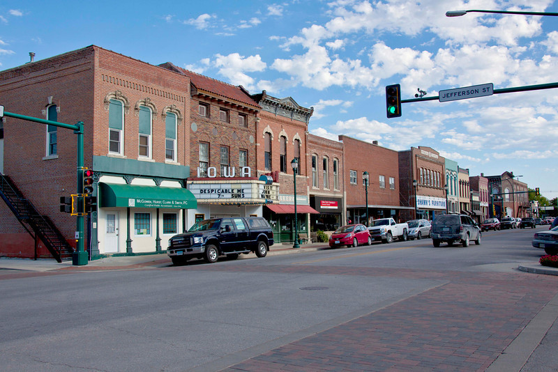 Winterset, IA, birthplace of John Wayne