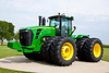 The 9630 is the biggest tractor made by John Deere.