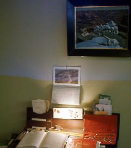 Walnut Desk by Lester- circa 1922