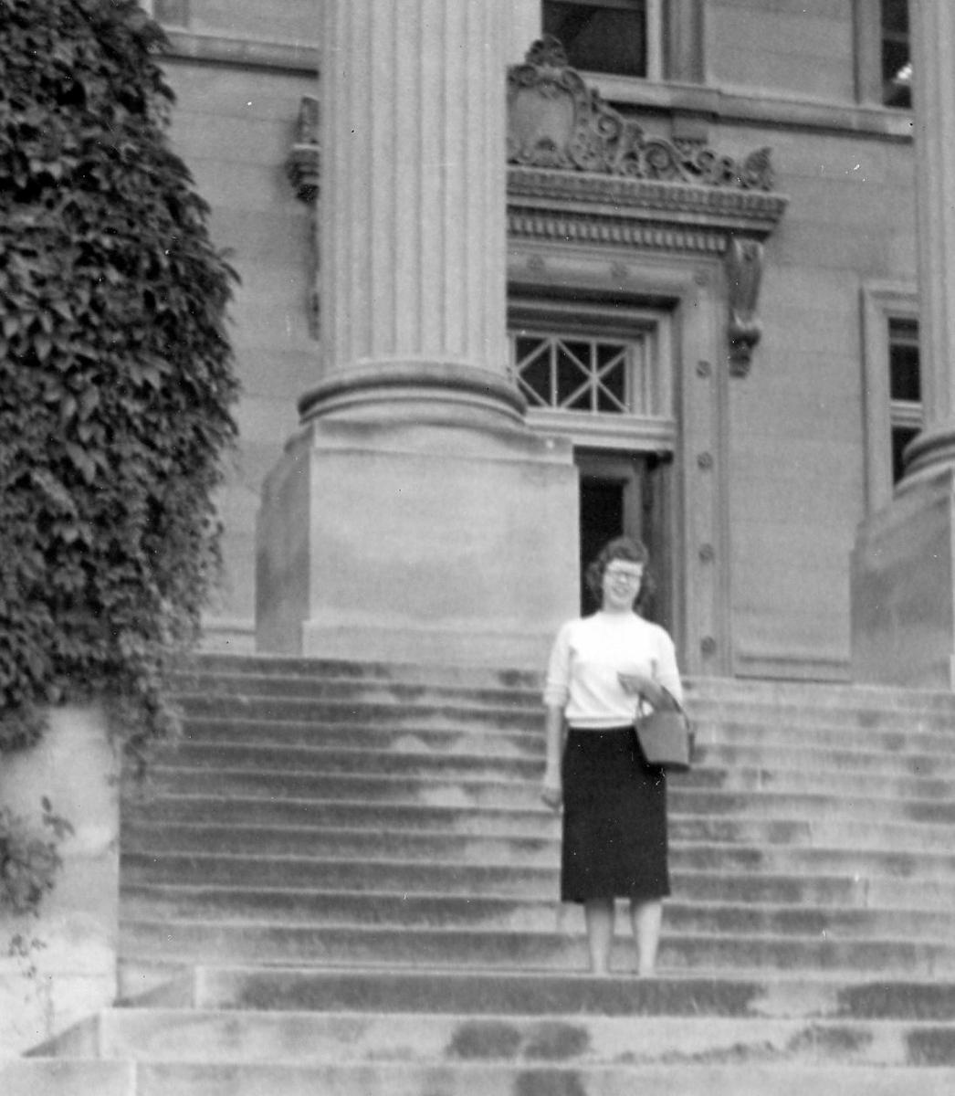 Marilyn at Beardshear Hall