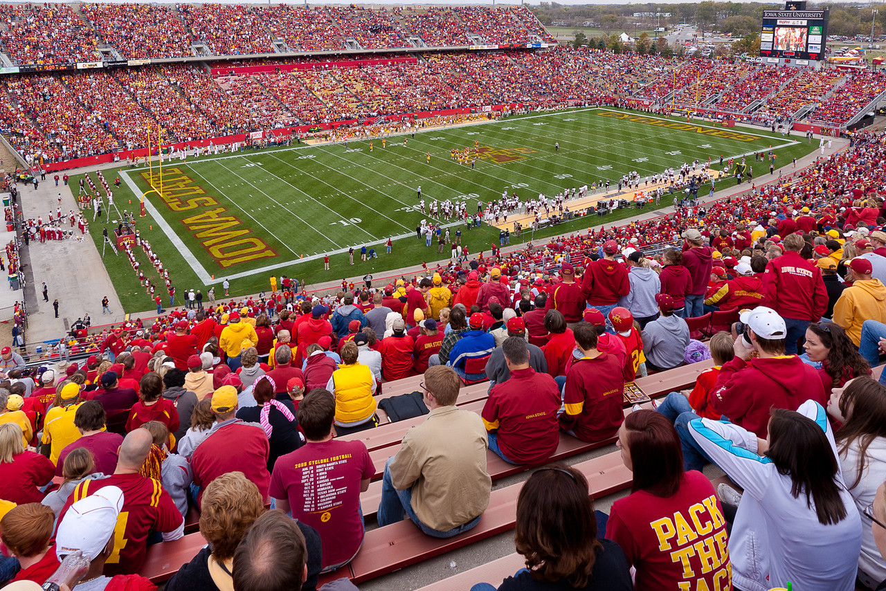 Jack Trice Stadium, the wide view.