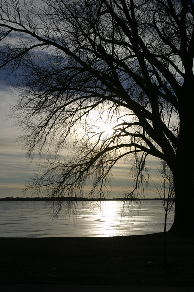 Winter in Iowa, Storm Lake, Iowa