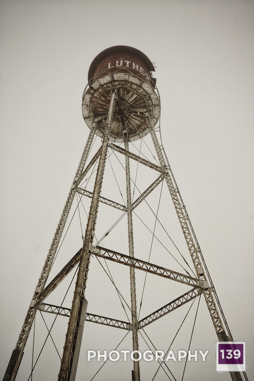 Luther Water Tower