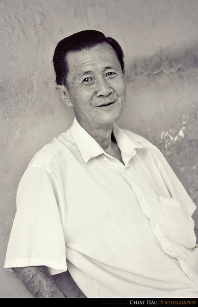 A portrait for uncle
