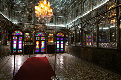 The room we were banned from photographing - Golestan Palace, Tehran