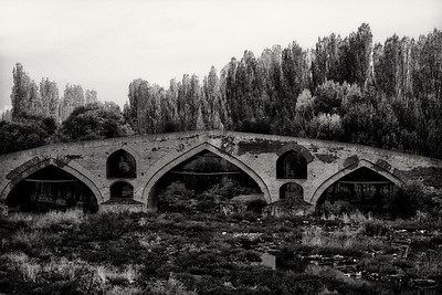 Medieval bridge, Zanjan, NW Iran