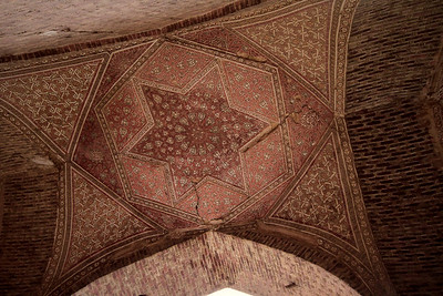 Soltaniyeh, NW Iran. Ceiling detail