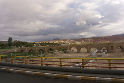 On the road to St. Stephanos Monastery.  This bridge was built in the 1700s.