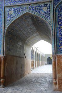 The Madrassah at the Imam Mosque, Isfahan