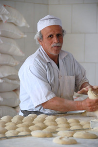 He makes the best bread in Isfahan.
