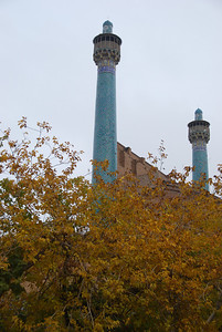 Minarets at the Imam Mosque