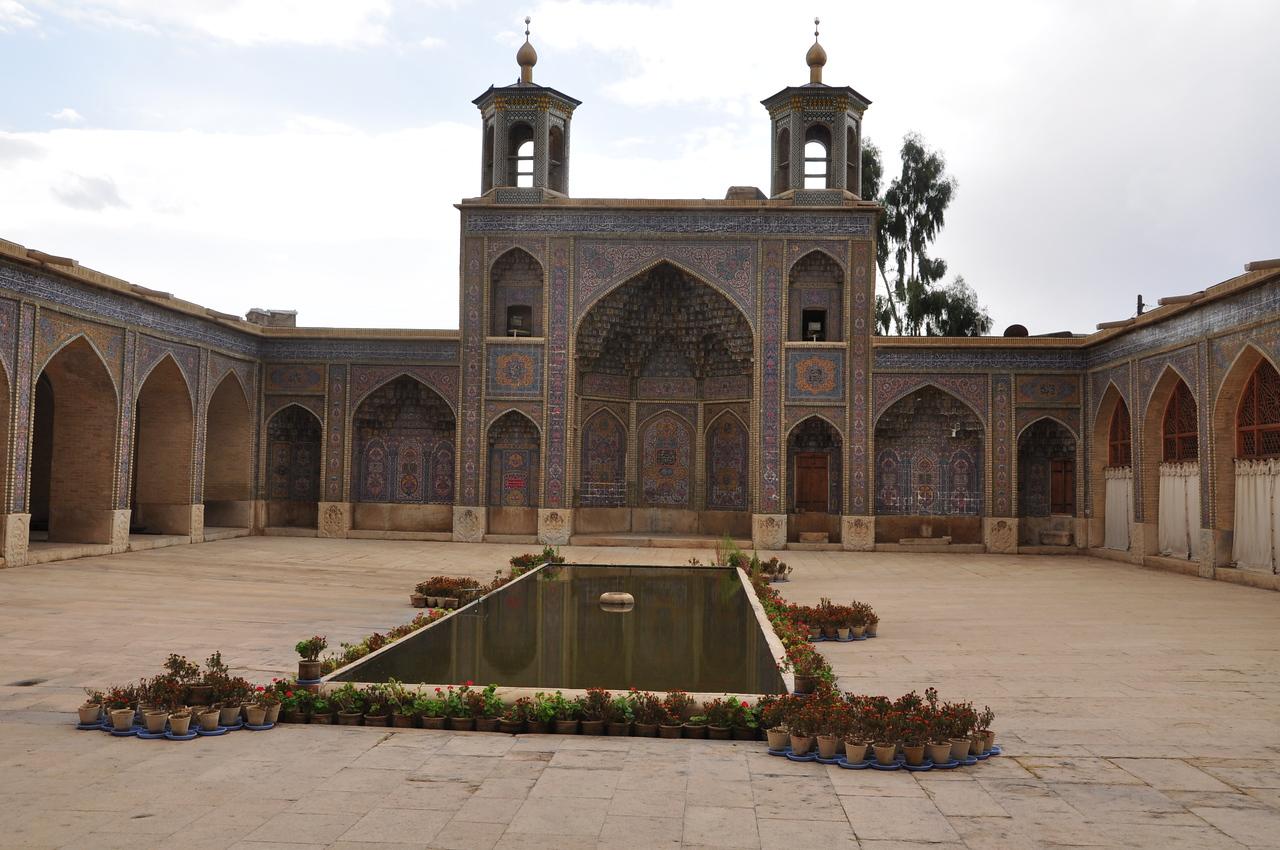 Interior courtyard of Nassir ol Molk.