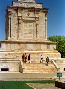monument to a poet, Ferdowsi. http://en.wikipedia.org/wiki/Ferdowsi