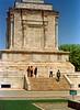 "monument to a poet, Ferdowsi.<br /> <a href=""http://en.wikipedia.org/wiki/Ferdowsi"">http://en.wikipedia.org/wiki/Ferdowsi</a>"