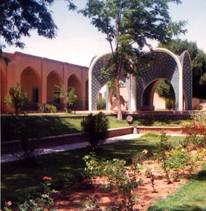 Tomb of Kamal-ol-molk in Nishapur, Iran http://en.wikipedia.org/wiki/Kamal-ol-molk