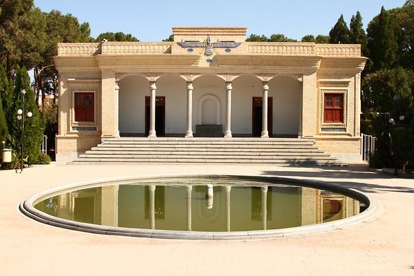 """Zoroastrian Temple"""