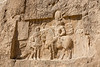 The Triumph of Shapur I (r. 241-272) below the tomb of Darius I
