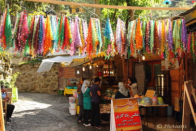 """Colors of Masuleh"" Colorful scarfs hung outside a souvenir shop caught my attention in old town of Masuleh, in Gilan province in northwest Iran.  #63101348    © Payam Nashery - Photoarts"
