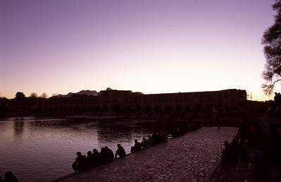 Esfahan-BridgeSunset