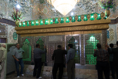 Qazvin: Imamzadeh-ye Hussein - shrine to the son of the 8th Imam