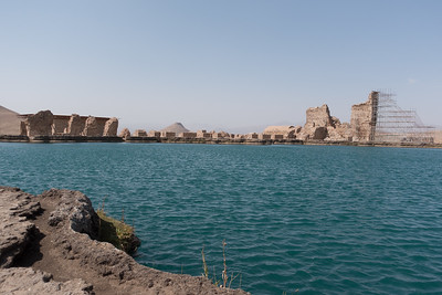 Takht-e Soleyman: Was home to four Zoroastrian  fire temples.
