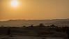 Sunset through the haze at Bishapur