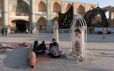 Yazd:  Impromptu Study Group