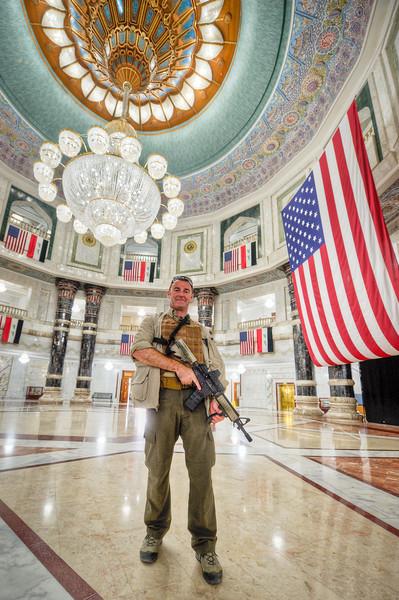 22 AUG 2011 - Al-Faw Palace visit with LTG Ferriter (USF-I DCG A&T), Victory Base Complex, Baghdad, Iraq. U.S. Army photo by John D. Helms - john.helms@iraq.centcom.mil.