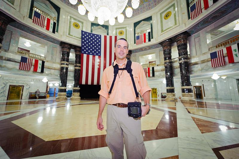 22 AUG 2011 - Al-Faw Palace visit with LTG Ferriter (USF-I DCG A&T), Victory Base Complex, Baghdad, Iraq. U.S. Army photo by SSG Caleb Barrieau.