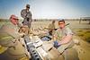 29 AUG 2011 - LTG Ferriter (USF-I DCG A&T) and AMB Jeffrey visit Besmaya, Iraq for M1A1 tank demonstrations.  U.S. Army photo by John D. Helms - john.helms@iraq.centcom.mil.