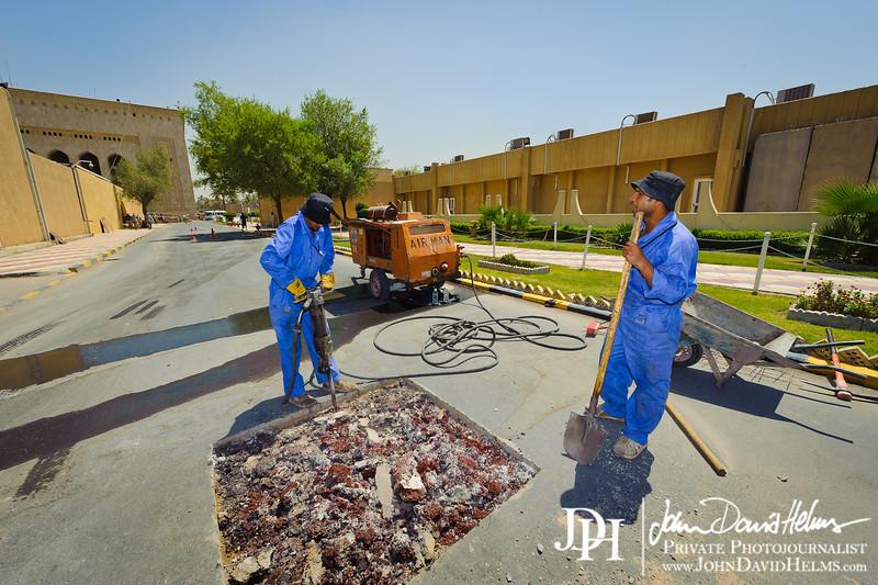 13 AUG 2011 - FOB Union III, Baghdad, Iraq. Photo by John D. Helms - john.helms@iraq.centcom.mil.