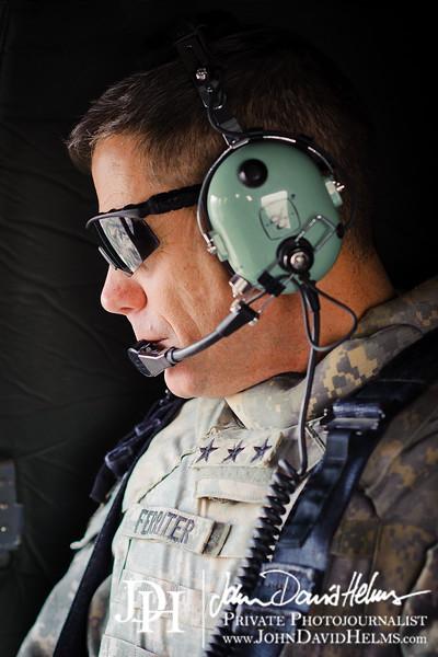 27 SEP 2011 - Flight from JSS Shield to FOB Union III. Baghdad, Iraq. U.S. Army photo by John D. Helms - john.helms@iraq.centcom.mil.