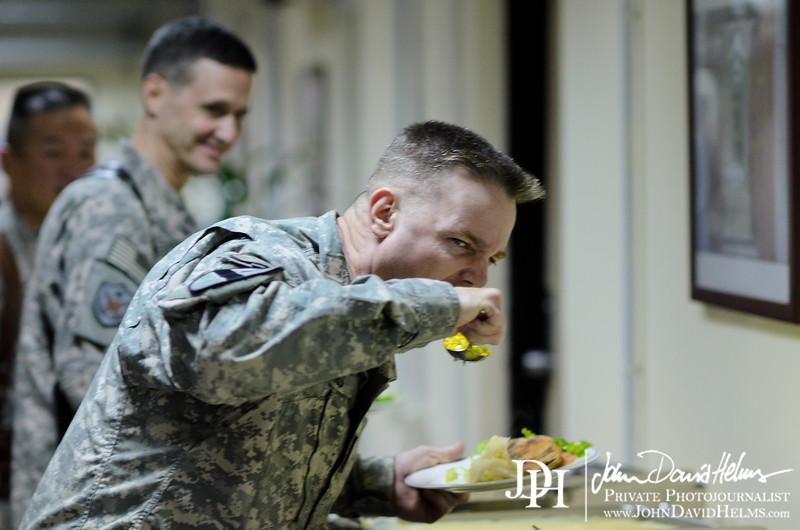 24 SEP 2011 - USF-I DCG A&T weekly POB, Building One, FOB Union III, Baghdad, Iraq. U.S. Army photo by John D. Helms - john.helms@iraq.centcom.mil.