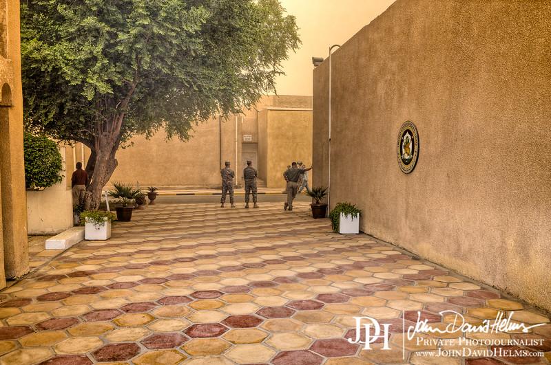 13 OCT 2011 - FOB Union III, Baghdad, Iraq. U.S. Army photo by John D. Helms - john.helms@iraq.centcom.mil.