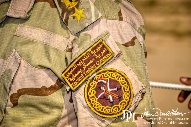 16 OCT 2011 - BG Roberts, COL Romero and other leaders visit Besmaya, Iraq.  U.S. Army photo by John D. Helms - john.helms@iraq.centcom.mil.