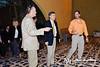 18 NOV 2011 - OSC-I Chief and NTM-I Commander LTG Robert L. Caslen, Jr. welcomes Mr. Patrick Kennedy, Undersecretary of State for Management.  Babylon Conference Center, FOB Union III, Baghdad, Iraq. Photo by John D. Helms - john.helms@iraq.centcom.mil.