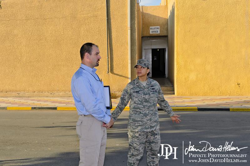 7 NOV 2011 - STAFFDEL visit with OSC-I Chief LTG Caslen at FOB Union III, Baghdad, Iraq.  U.S. Army photo by John D. Helms - john.helms@iraq.centcom.mil.