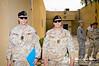 16 NOV 2011 - OSC-I Chief and NTM-I Commander LTG Robert L. Caslen, Jr. and other NTM-I leaders host NATO ASG (Assistant Secretary General - Operations) Evans at FOB Union III, Baghdad, Iraq. U.S. Army photo by John D. Helms - john.helms@iraq.centcom.mil.