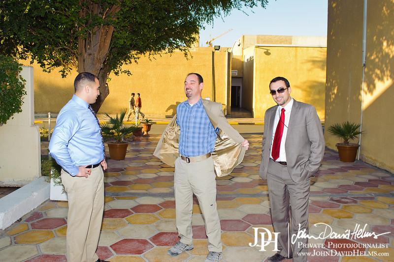 27 NOV 2011 - OSC-I Chief and NTM-I Commander LTG Robert L. Caslen, Jr. meets with DM Ayden at FOB Union III, Baghdad, Iraq.  Photo by John D. Helms - john.helms@iraq.centcom.mil.