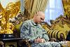 17 NOV 2011 - OSC-I Chief and NTM-I Commander LTG Robert L. Caslen, Jr. meets with Iraq's CTS GEN Kinani.  Baghdad, Iraq. U.S. Army photo by John D. Helms - john.helms@iraq.centcom.mil.