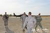 18 NOV 2011 - OSC-I Chief and NTM-I Commander LTG Robert L. Caslen, Jr. visits Besmaya, Iraq for various meetings. Photo by John D. Helms - john.helms@iraq.centcom.mil.