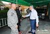 15 NOV 2011 - OSC-I Chief and NTM-I Commander LTG Robert L. Caslen, Jr. meets with Abd al Qadr.  Baghdad, Iraq.  Photo by John D. Helms - john.helms@iraq.centcom.mil.