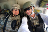 25 DEC 2011 - OSC-I Chief LTG Robert L. Caslen, Jr. and OSC-I CSM George Manning visit Kirkuk, Iraq for meetings. Baghdad, Iraq.  Photo by John D. Helms - john.helms@iraq.centcom.mil.