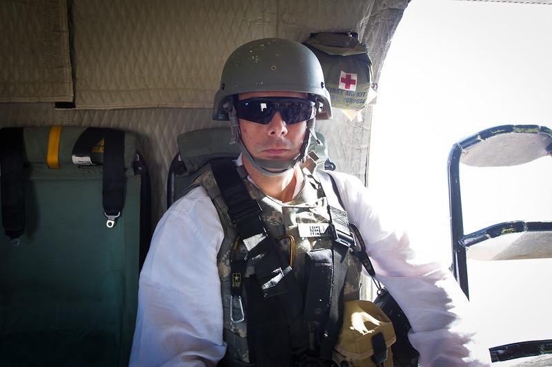 25 DEC 2011 - OSC-I Chief LTG Robert L. Caslen, Jr. and OSC-I CSM George Manning visit Tikrit, Iraq for meetings. Baghdad, Iraq.  Photo by Maj. Howard.